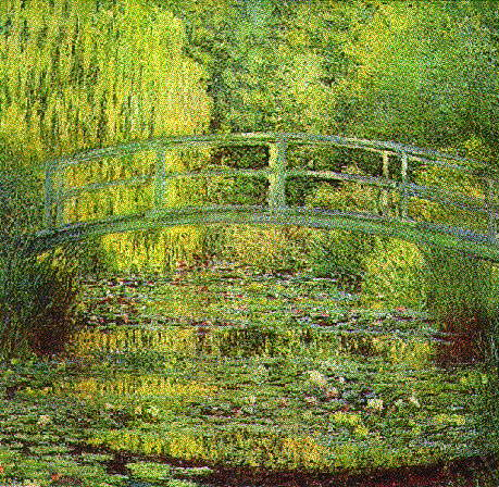 Monet's bridge at giverny